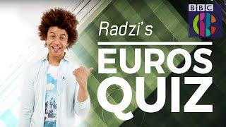 Radzi's Euro 2016 Quiz | CBBC