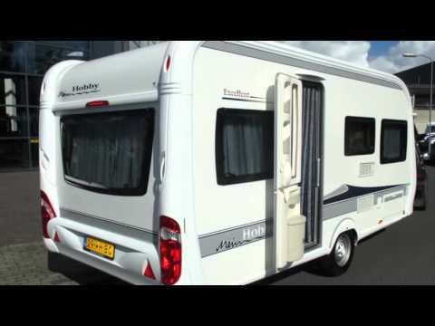 Caravan te koop: HOBBY EXCELLENT 455 UF 2011 (VERKOCHT) - YouTube