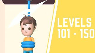 Rescue Cut - Rope Puzzle Game All Levels 101-150