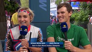 Jamie Murray and Bethanie Mattek Sands | US Open Now Interview