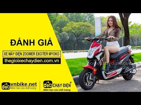 Đánh giá xe máy điện Zoomer Exciter Myoko