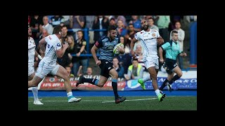 Cardiff blues v exeter chiefs match report 2017 Video