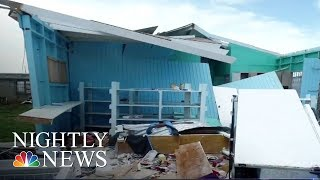 Widespread Damage Paralyzes The Caribbean | NBC Nightly News