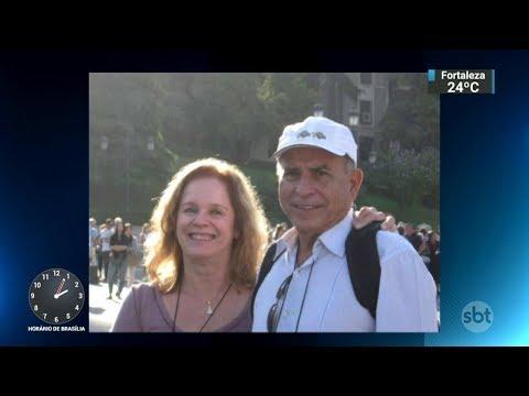 Motorista perde o controle e atropela casal de idosos em Brasília | SBT Notícias (19/01/18)