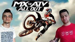 Dawid skacze jak Kamil Stoch ! xD ️MX vs ATV ALL OUT ️