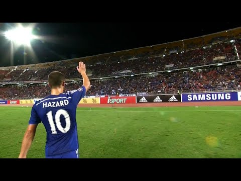 Eden Hazard vs Thailand All-Stars (Away) 14-15 HD 720p By EdenHazard10i