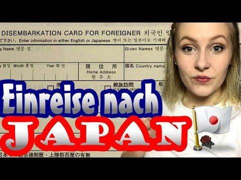 Einreise nach JAPAN als TOURIST - DAS musst du wissen und beachten! | Miss Leuders