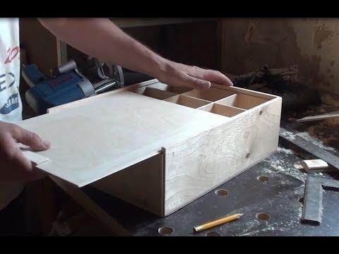 Ящик из фанеры своими руками