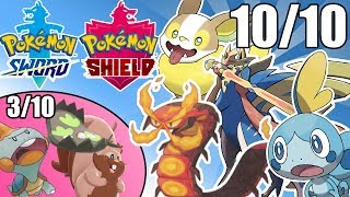 My Rating and Opinion on Every New Pokemon in Sword and Shield!