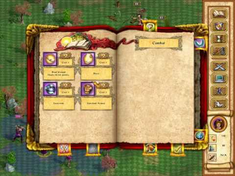 Heroes of Might and Magic IV : Original Campaign- The True Blade - The Drawing of the Blade