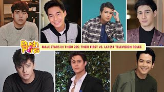Male stars in their 20s: Their First vs. Latest Television Roles | Push Pins