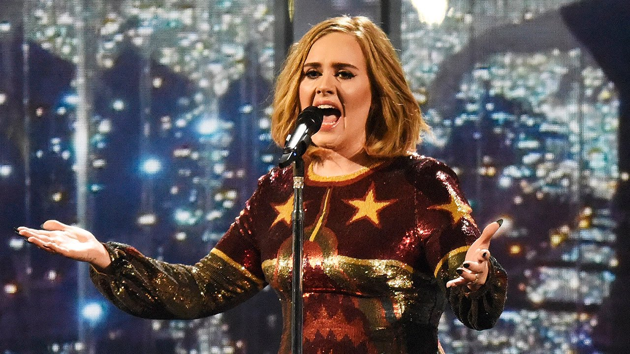 Adele Performs Powerful