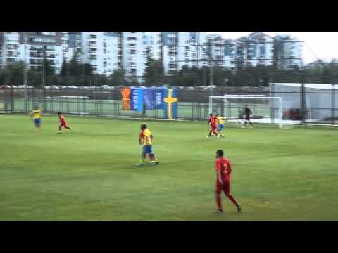 (U-18) Macedonia 3 - 2 Sweden 11.06.2015