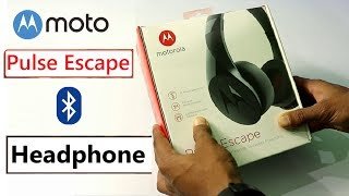 Motorola Pulse Escape Budget Wireless Bluetooth Headphone Unboxing and Review in Hindi