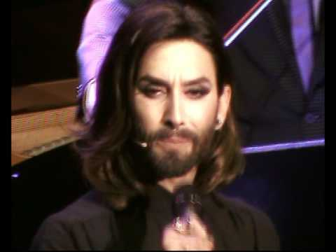 "Conchita Wurst - ""Blue Bloom"" - Gala #widerdiegewalt, Ronacher Theater - Vienna, 10.10.2016"