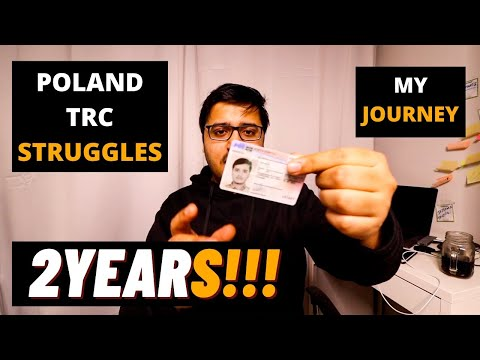 WHAT IS POLAND TRC PROCESSING TIME?  TRUTH ABOUT POLAND TRC  INDIANS IN POLAND  POLAND RESIDENCY