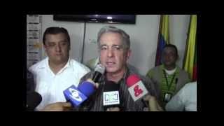 Alvaro Uribe, se refiere a la sequía en Paz de Ariporo