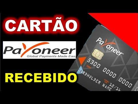 🔴Cartão Payoneer-Mostrando Cartão