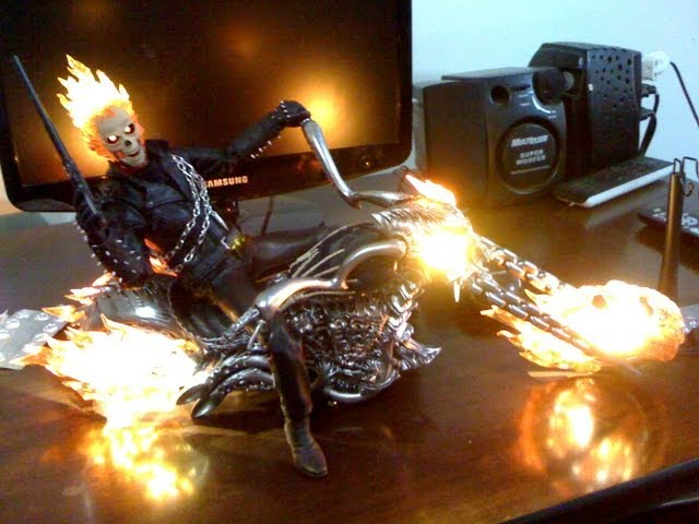 Hot Toys Ghost Rider Review BR Travel Video