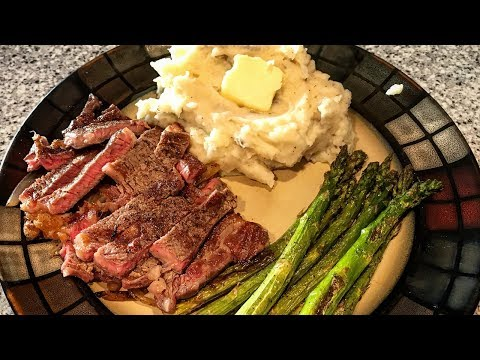 Steak & Potatoes | Cooking With Charlie