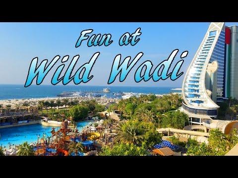 Dubai's Wild Wadi Tube Ride in 4K!
