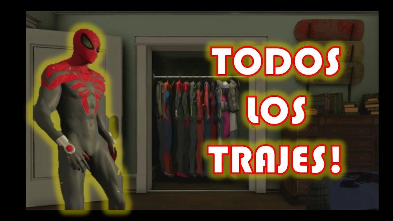 The Amazing Spiderman 2 - Todos los Trajes y Como Desbloquearlos!