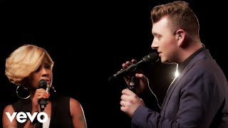 Repeat youtube video Sam Smith - Stay With Me (Live) ft. Mary J. Blige