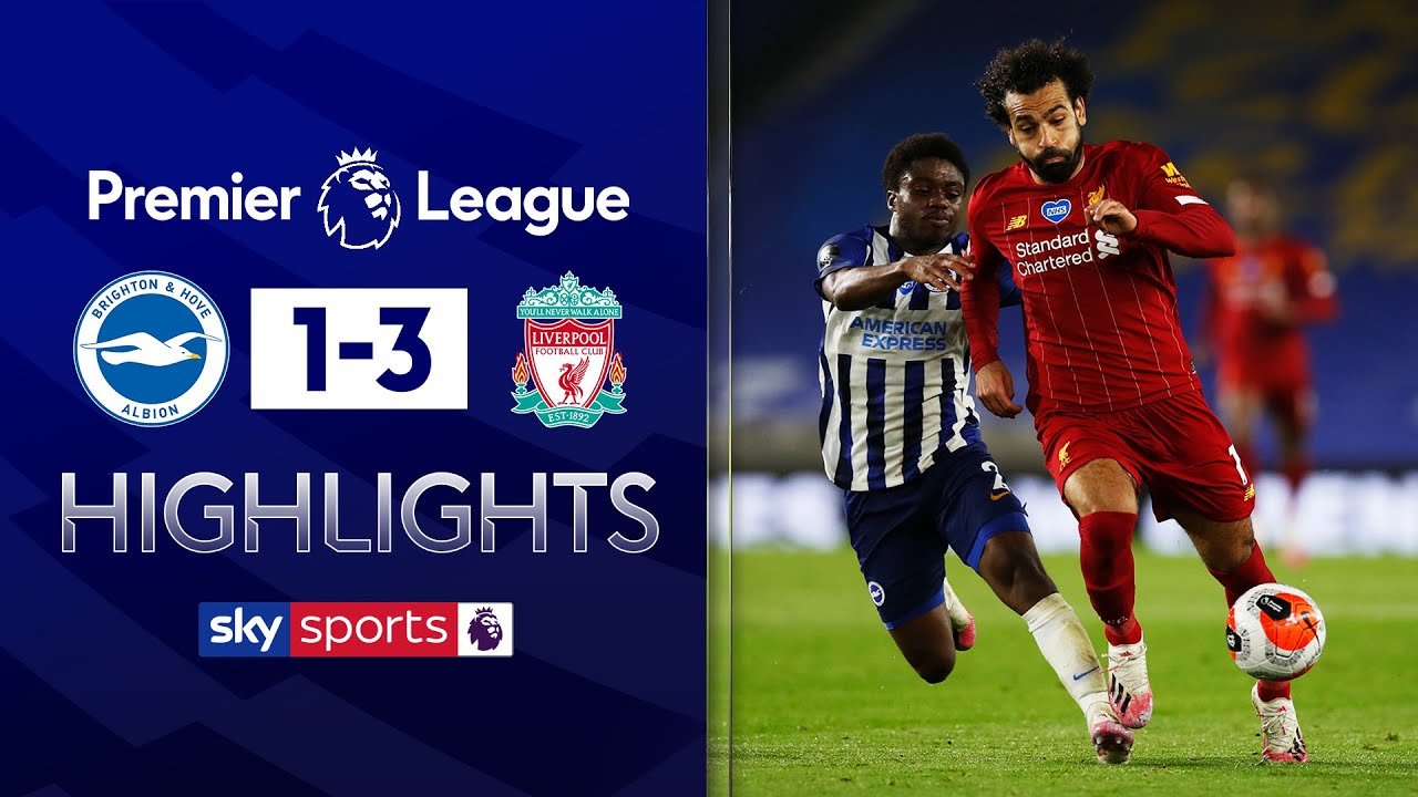 Salah scores twice as Liverpool get back to winning ways! | Brighton 1-3 Liverpool | EPL Highlights