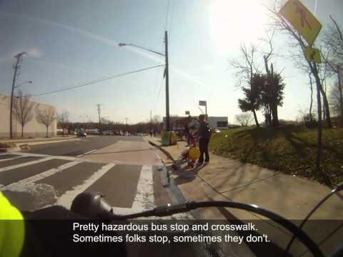 Getting around Greenbelt, Maryland by bike -- Episode 1