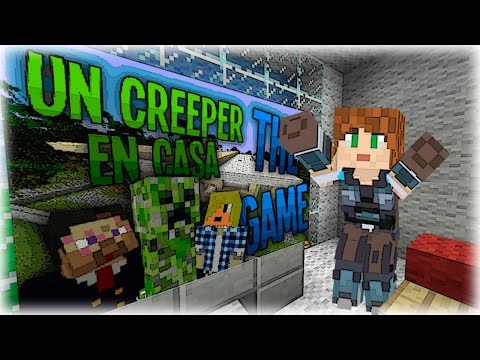 UNA HISTORIA MUY SURREALISTA Y DIVERTIDA :D | Un Creeper en Casa | Minecraft | Lady Boss