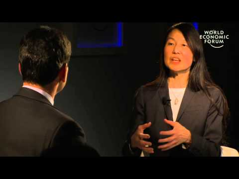 Davos 2013 - An Insight, An Idea with Jeannette Wing