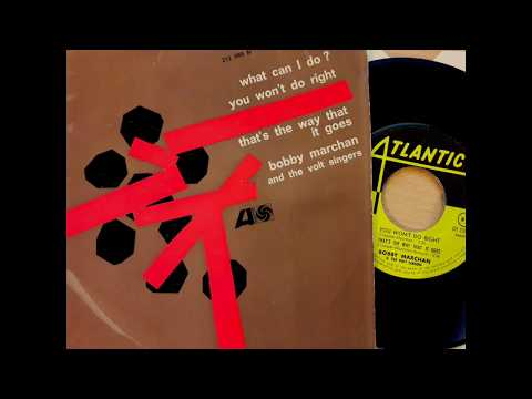 BOBBY MARCHAN - That's The Way It Goes - ATLANTIC French EP