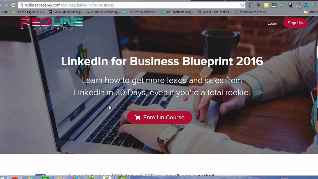 Linkedin for business blueprint 2016 online course youtube linkedin for business blueprint 2016 online course malvernweather Choice Image