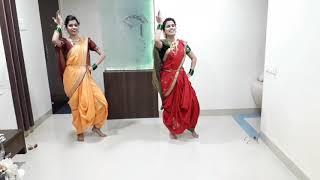 Aali Thumkat Naar Lachkat | Dance | Trupti & Varsha | Mumbai Pune Mumbai 3