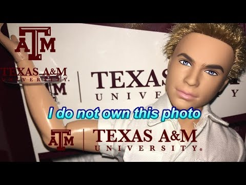 Dollswillbedolls~ Texas A&M Ken Doll ~ Body swap