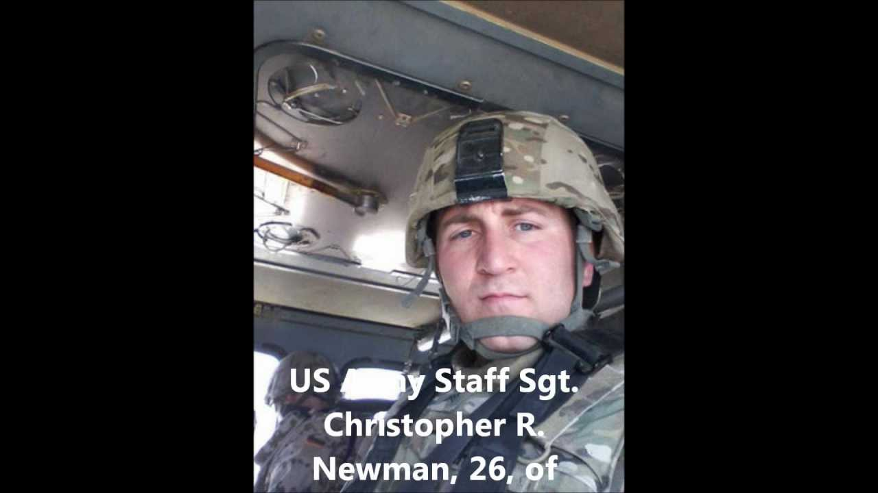 Tribute To Our Fallen Soldiers Us Army Staff Sgt