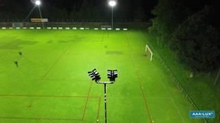 AAA-LUX floodlights: US Arbedo soccer field
