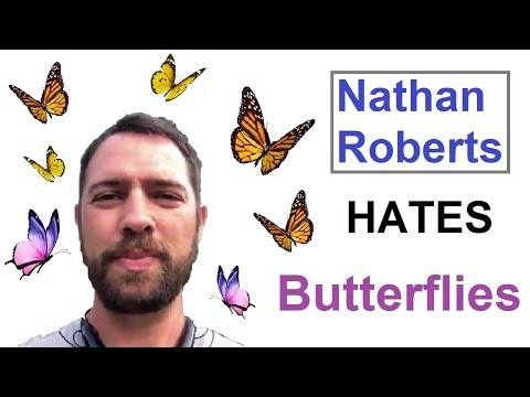 Flat Earther Nathan Roberts Hates Butterflies thumbnail