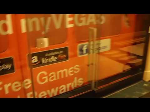 Taking the Mandalay Bay Tram to Luxor Las Vegas