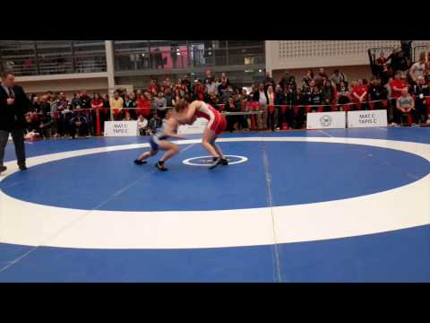 2015 Senior National Championships: 53 kg Jillian Gallays vs. Madison Parks
