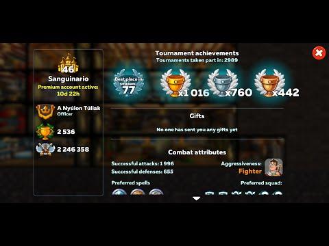 Tournament Win - PvP - Castle & Squad Preview - Hustle Castle Random Gameplay
