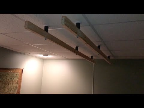 Installing Ashiatsu Bars Drop Ceiling