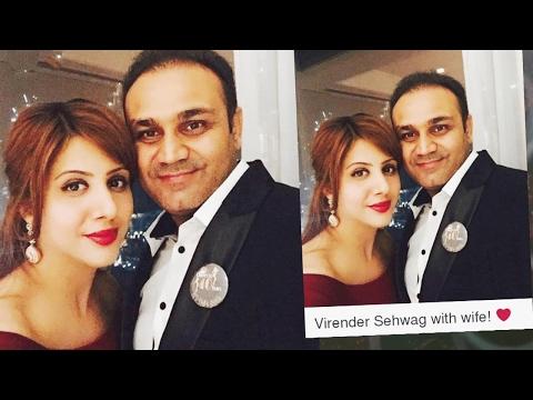 Cricketer Virender Sehwag's love story
