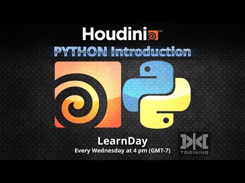 LearnDay - HOUDINI Python Introduction