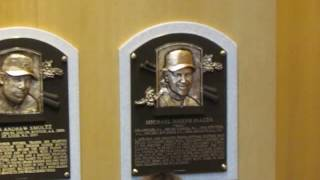 Mike Piazza's Baseball Hall of Fame plaque is Revealed/Displayed/Hung for the 1st time Ever! (pt 2)