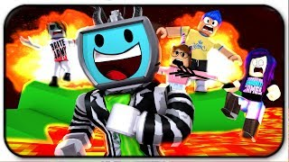 Tricking and Destroying My Noob Friends In Roblox Deathrun (Roblox Roleplay)