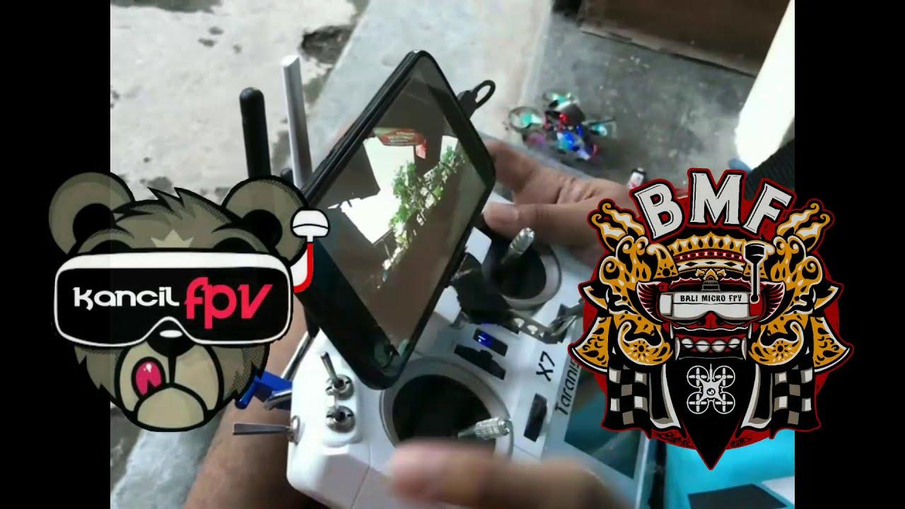 Micro drone 65mm 1s // stick cam картинки