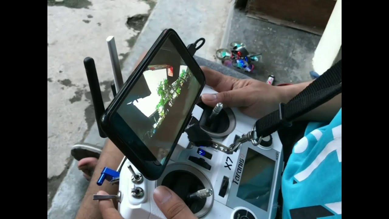 Micro drone 65mm 1s // stick cam фото