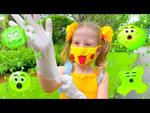 Настя и детские истории про вирусы