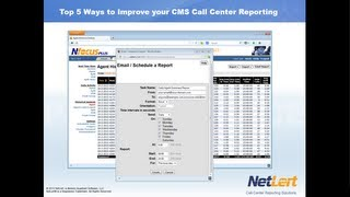 Get the Most out of Avaya CMS: Top 5 Ways to Improve your CMS Call Center Reporting